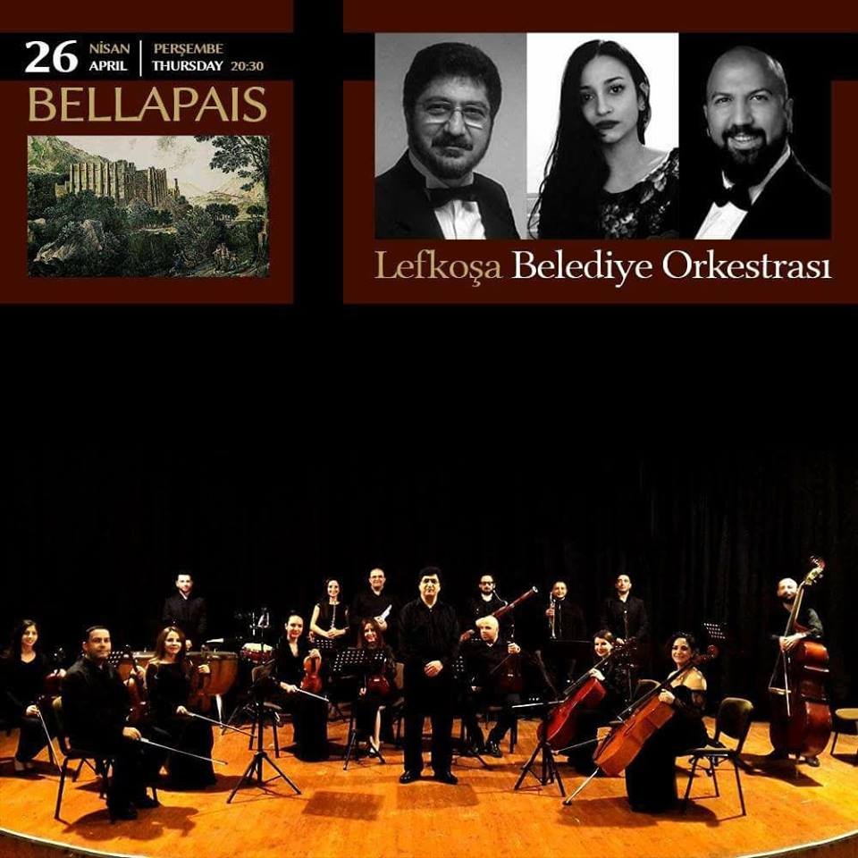 Lefkoşa Belediye Orkestrası в Аббатстве Беллапаис