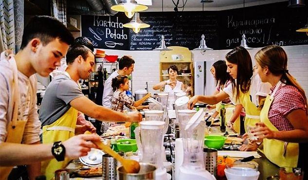 Кулинарные курсы продолжаются в марте