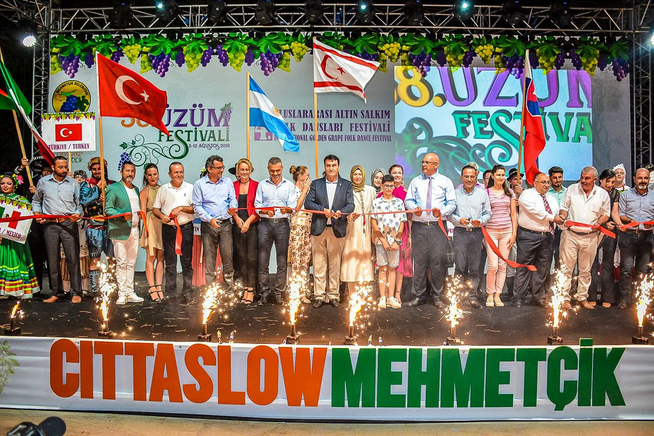 58-й фестиваль винограда в Мехметчике
