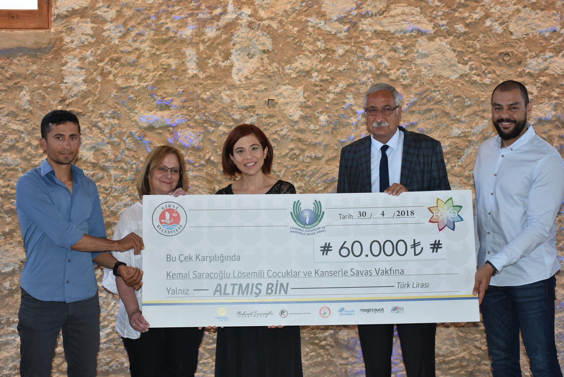 60 тысяч лир для онко-больных детей