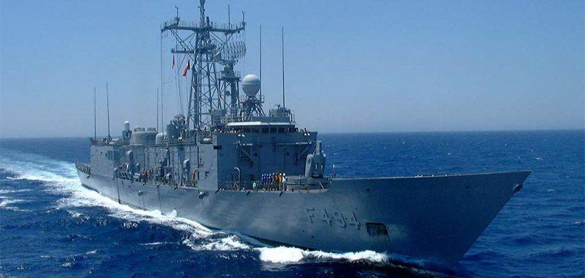 Турция направила к берегам Кипра фрегат ВМС