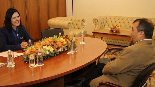 Сибер провела ряд переговоров в Санкт-Петербурге