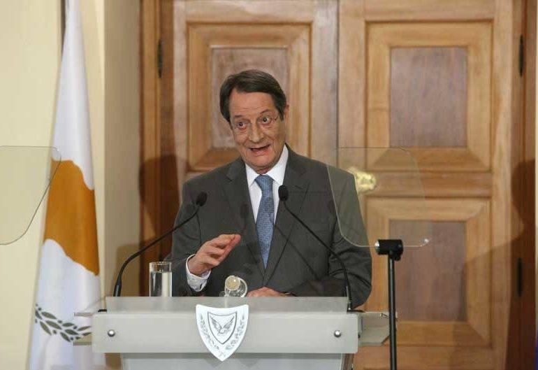 Греко-киприоты недовольны выступлением Анастасиадиса по поводу объединения острова