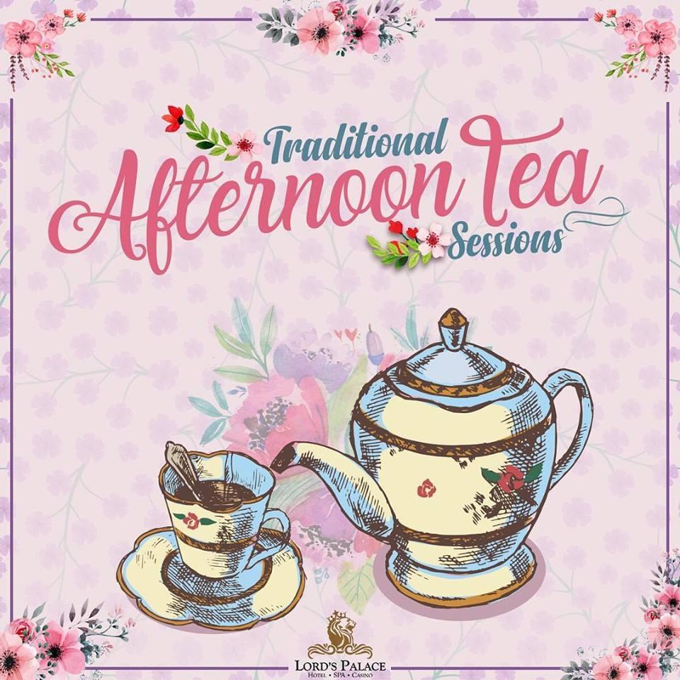 Как проходит afternoon tea?