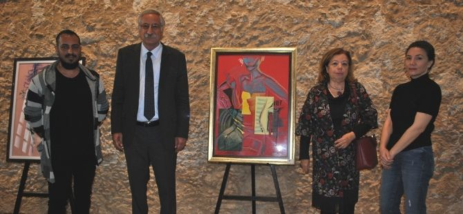 Выставка картин грузинской художницы Нати Чхеидзе