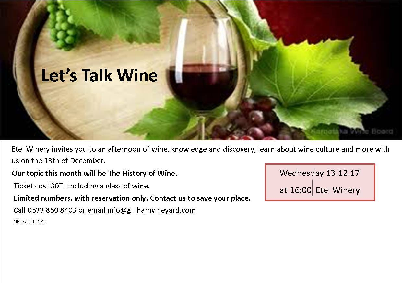 Поговорим о вине!
