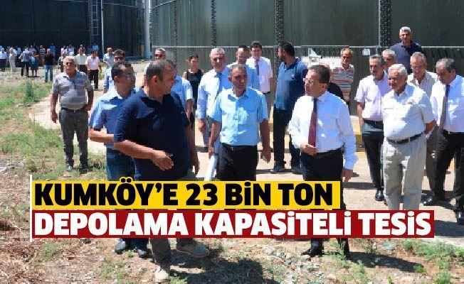 Водохранилище Kumköy получит 14000 денюмов воды на сельское хозяйство
