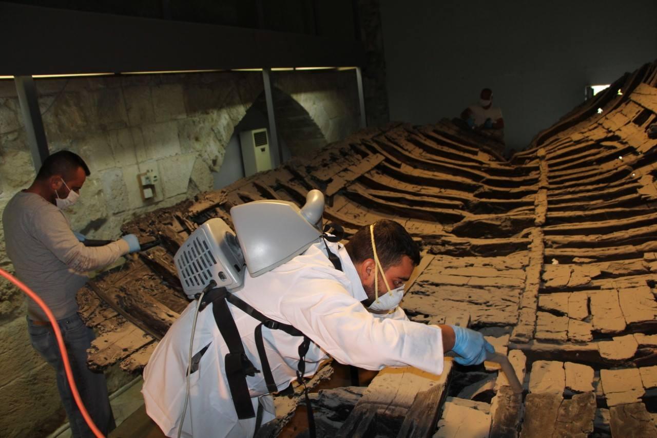 Самый древний корабль в истории был отреставрирован