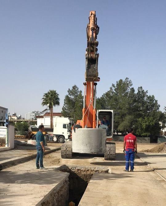 В одном из районов Лефкоши модернизировали канализацию