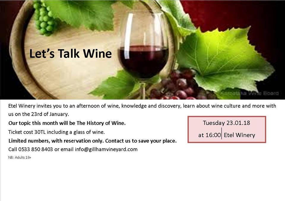 Лекция об истории виноделия