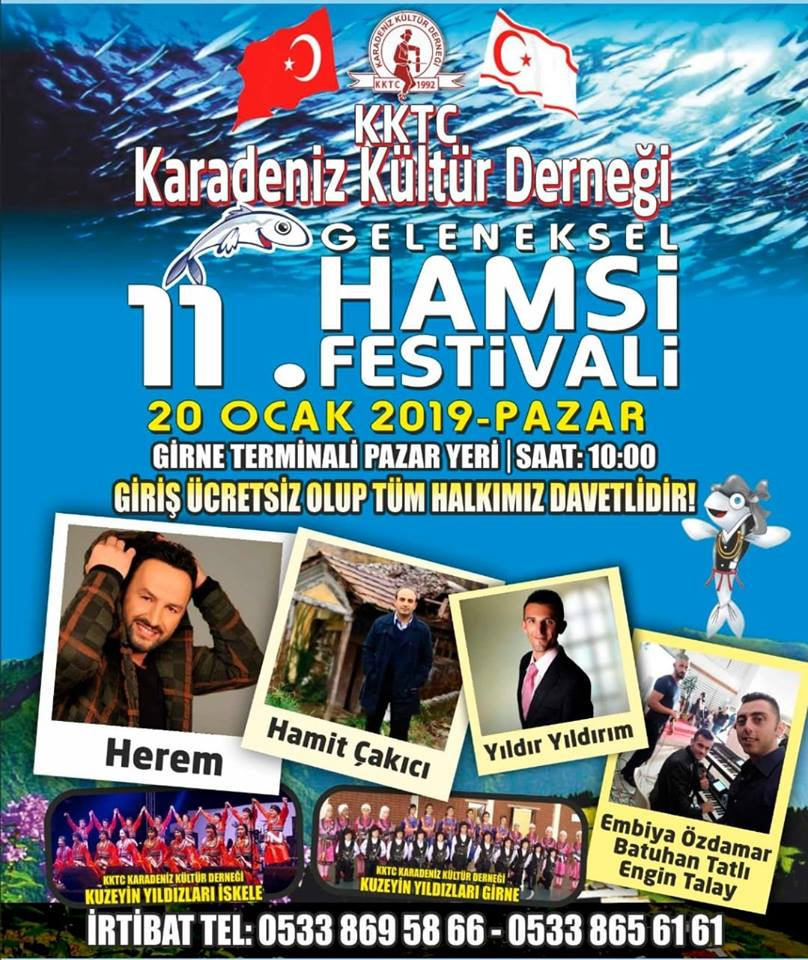 11-й фестиваль хамсы в Кирении