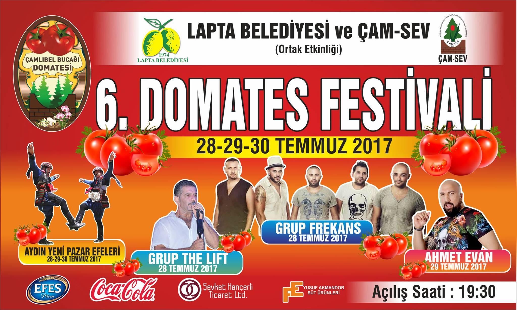 6-й фестиваль томатов в Чамлибель