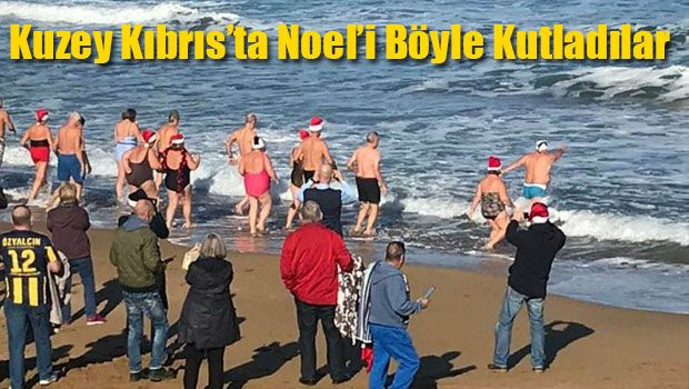Рождественский заплыв на Северном Кипре