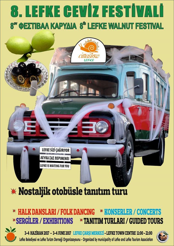 8-й фестиваль грецкого ореха в Лефке