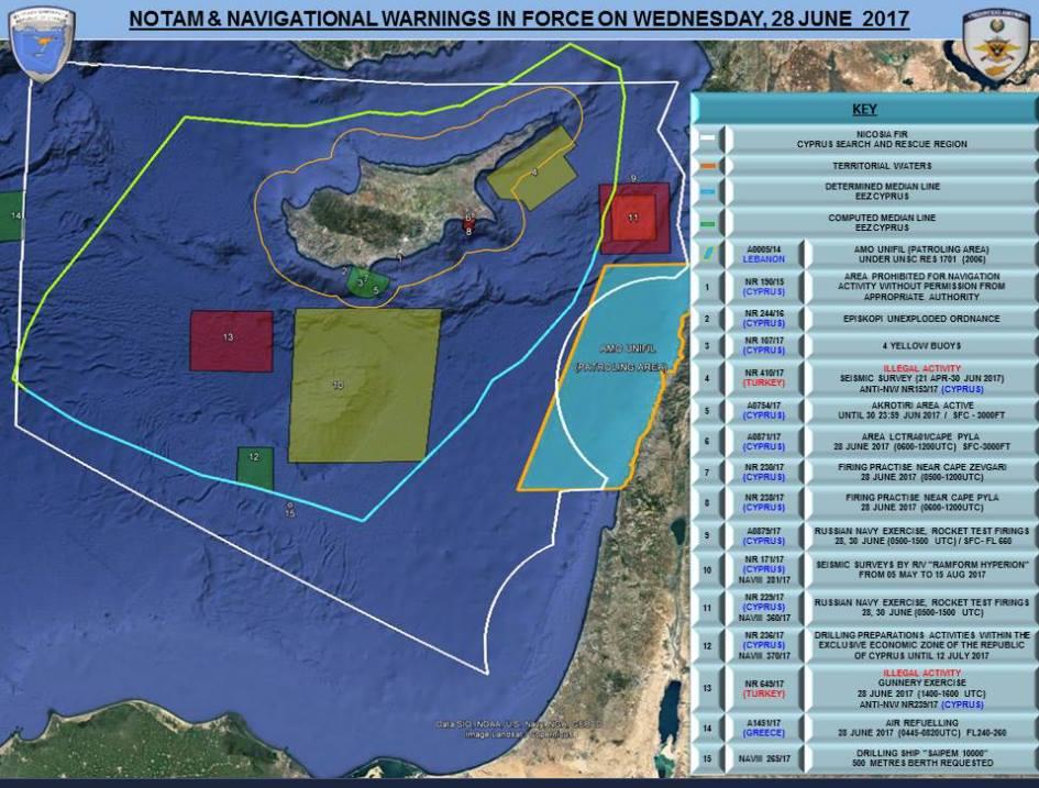 Корабли ВМФ России проведут ракетные стрельбы в Средиземноморье
