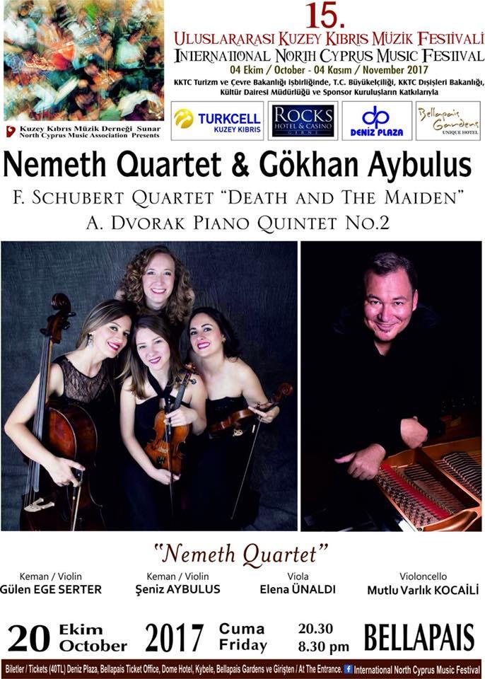 Концерт живой музыки Nemeth Quartet & Gökhan Aybulus