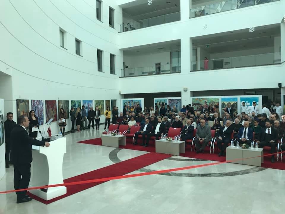 На Северном Кипре проходит выставка азербайджанских художников