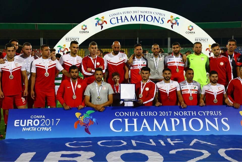 Сборная Северного Кипра заняла второе место на чемпионате Европы