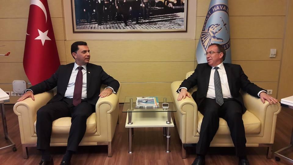 Министр экономики и энергетики Özdil Nami отправился в Анкару
