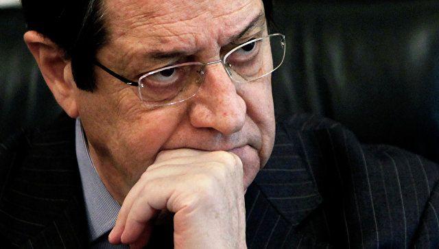 Анастасидис: «Мы ищем пути возобновления поиска решения кипрской проблемы»