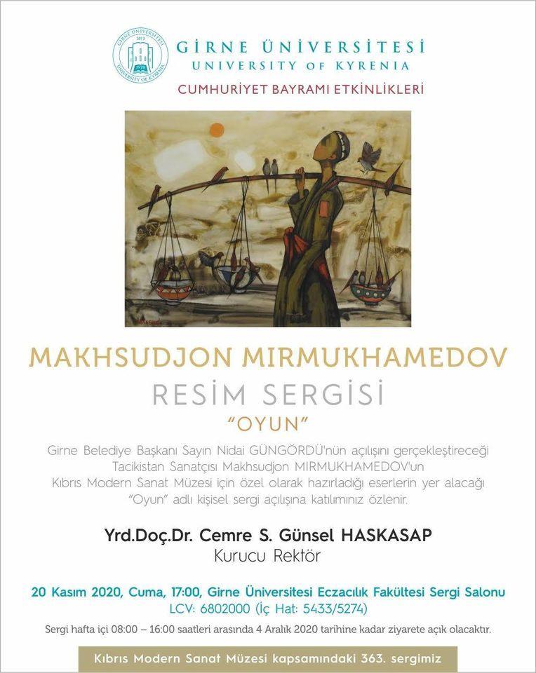 Выставка Максуджона Мирмухамедова