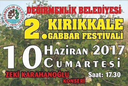 2-й фестиваль каперсов в Kırıkkale