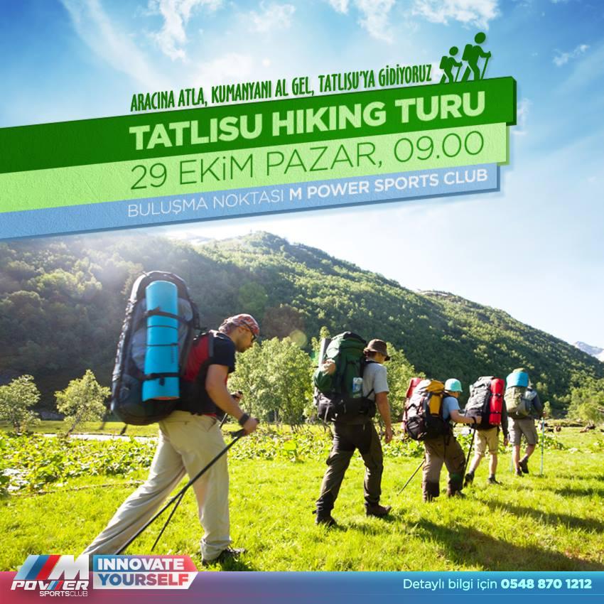 Поход в горы Татлысу