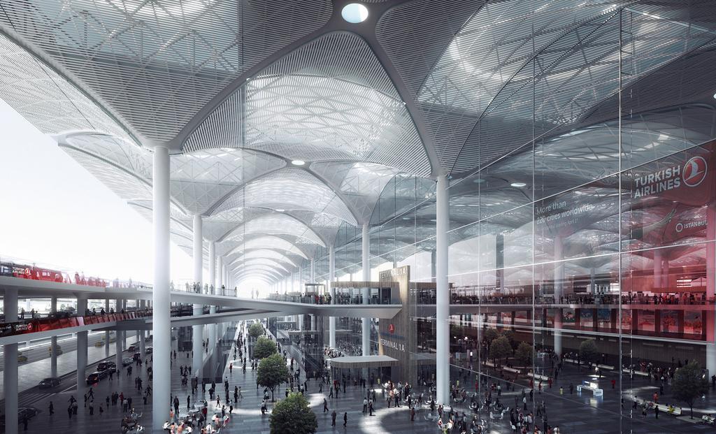 Первый рейс из нового Стамбульского аэропорта в ТРСК  запланирован на 1 ноября ноября