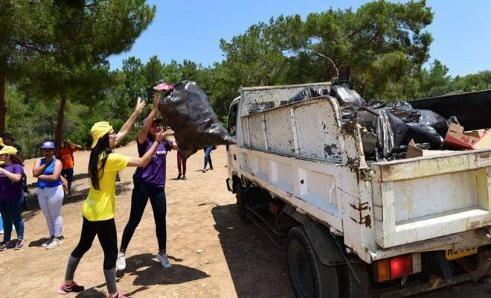 Пикниковую зону в Калканлы очистили от мусора