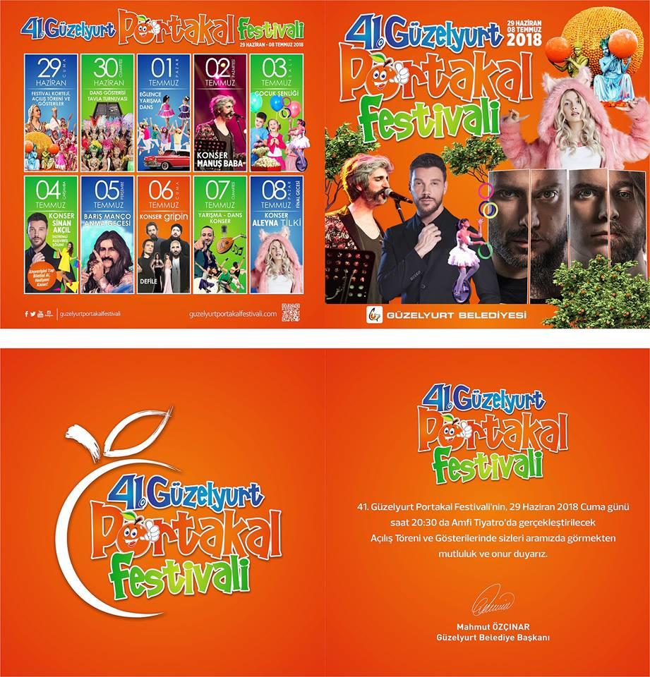 41-й фестиваль апельсинов в Гюзельюрте