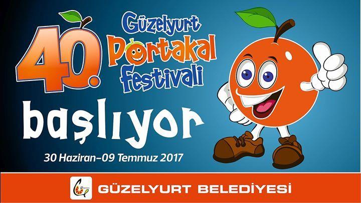 40-й фестиваль апельсинов в Гюзельюрте