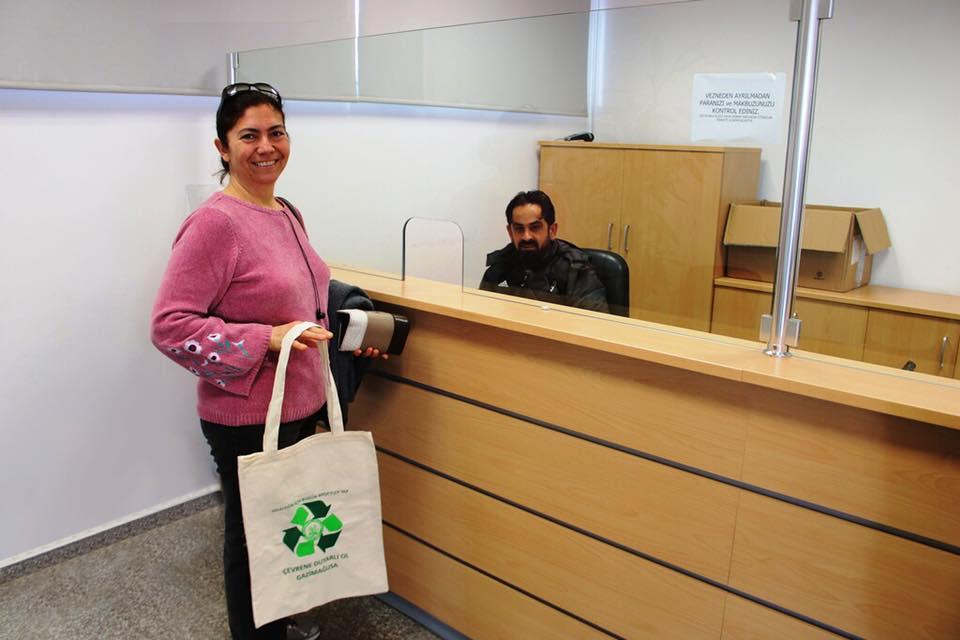 Эко-сумки для продуктов для жителей Фамагусты