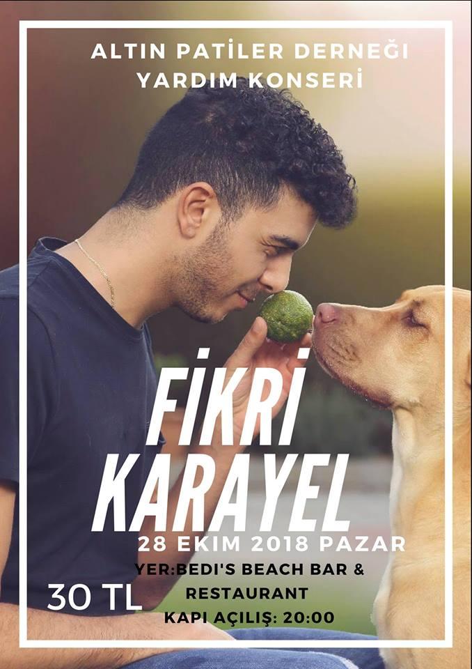 Благотворительный концерт Fikri Karayel в пользу животных