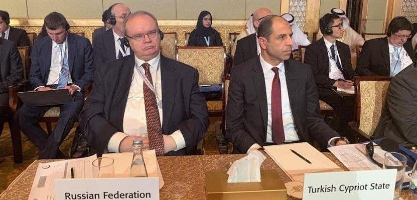 Kudret Özersay посетил Арабские Эмираты