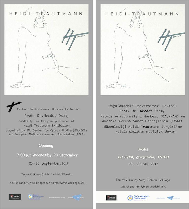 Выставка HEIDI TRAUTMANN
