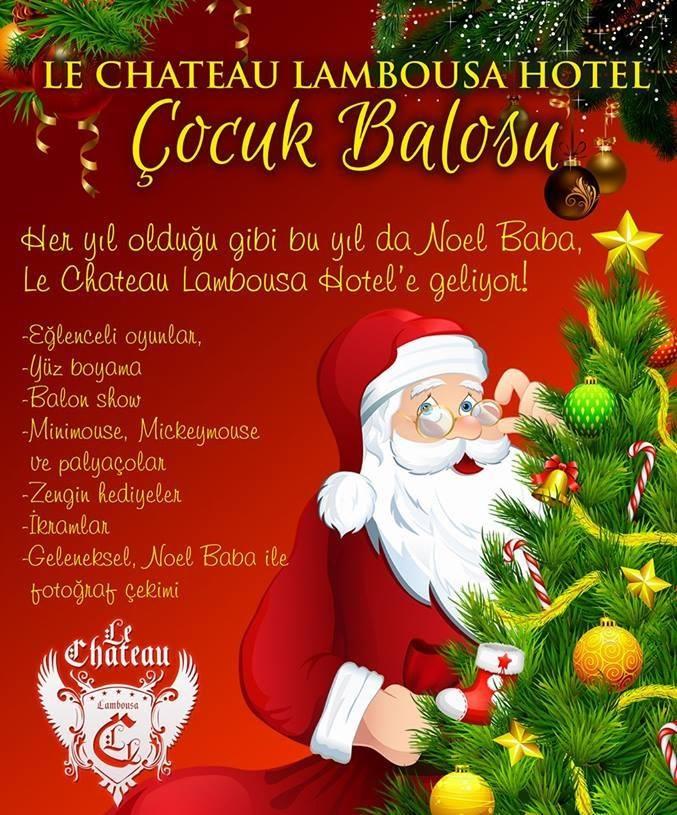 Новогодний праздник в Le Chateau Lambousa Hotel