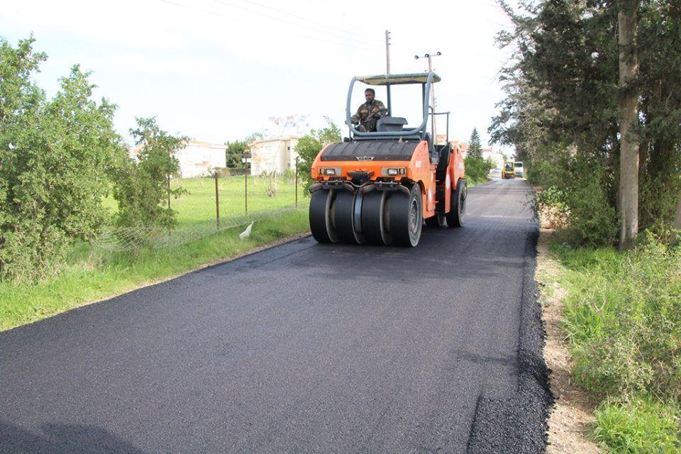 В Чанаккале построили новые асфальтированные дороги