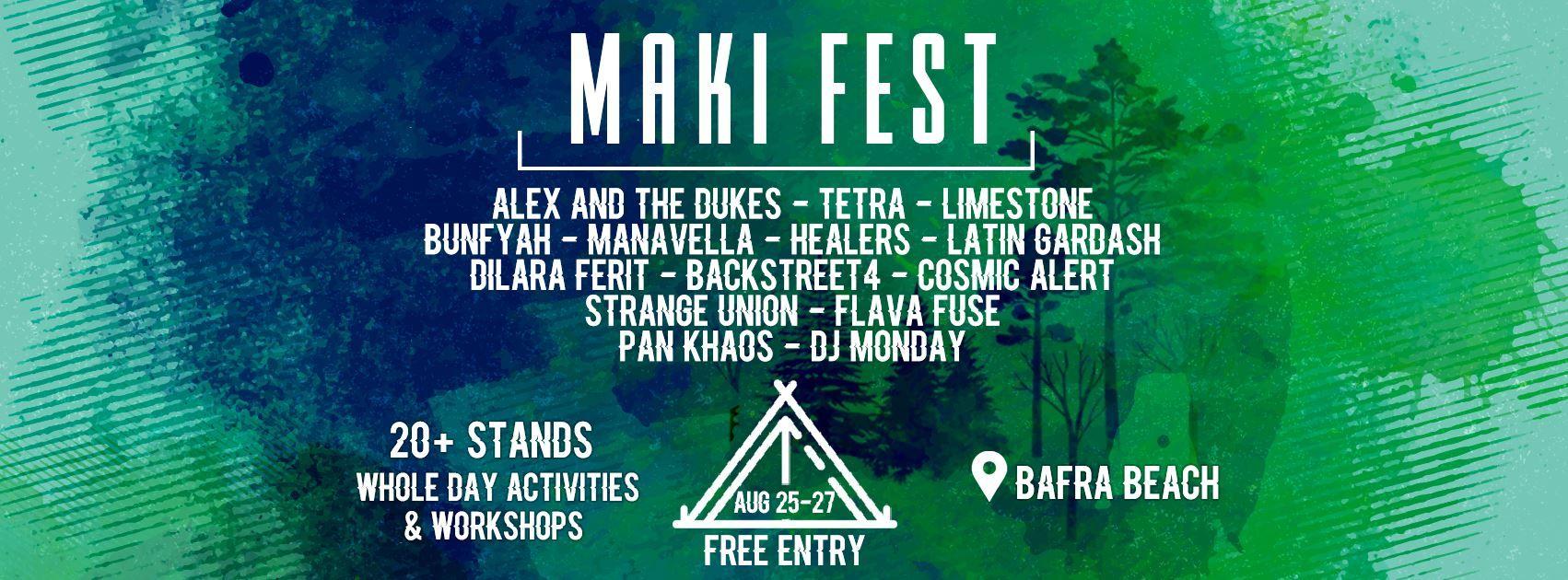 Maki Cyprus Festival 2017