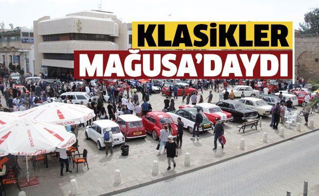 В Фамагусте прошла выставка классических автомобилей