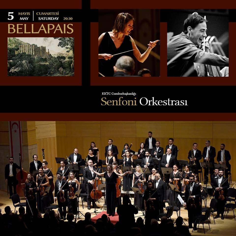 Концерт живой музыки президентского симфонического оркестра ТРСК