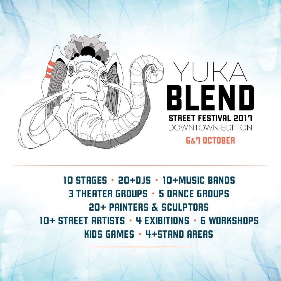 Yuka Blend Street Festival 2017