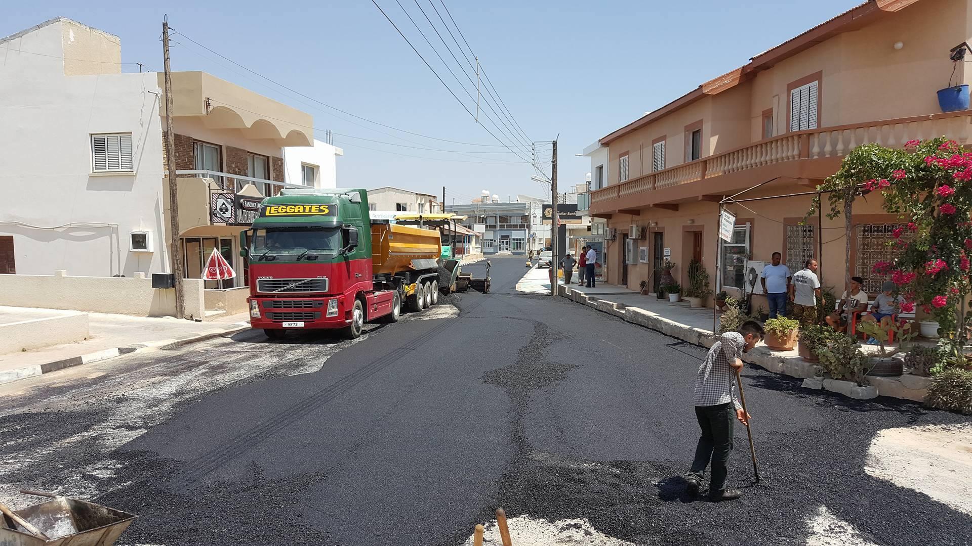 Новая дорога в Мехметчике