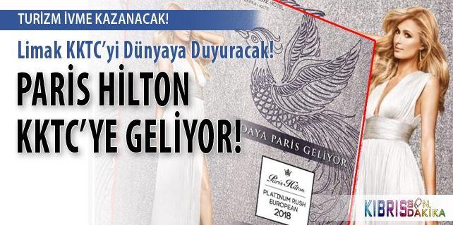 Пэрис Хилтон едет на Северный Кипр