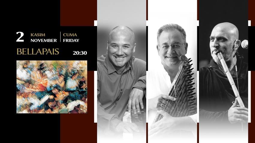 Tanini Trio в Аббатстве Беллапаис.