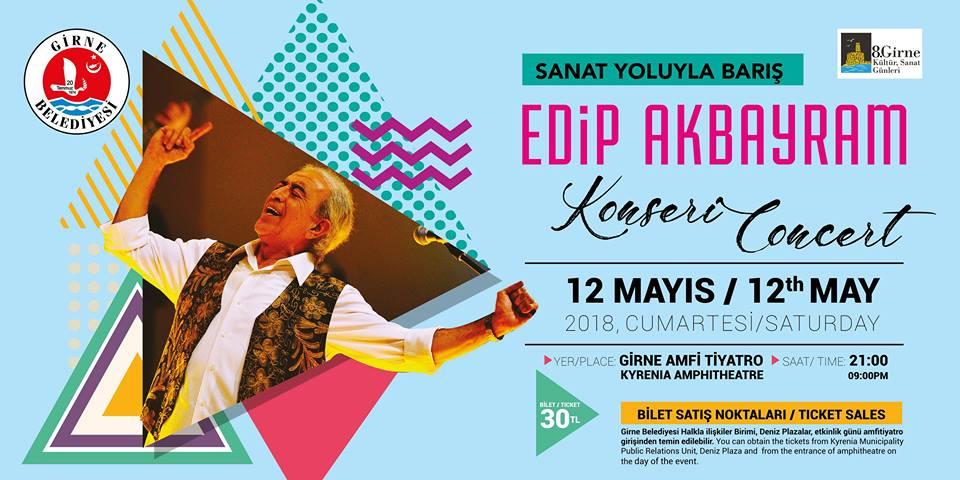 8-е дни Культуры и Искусства стартуют с концерта Edip Akbayram