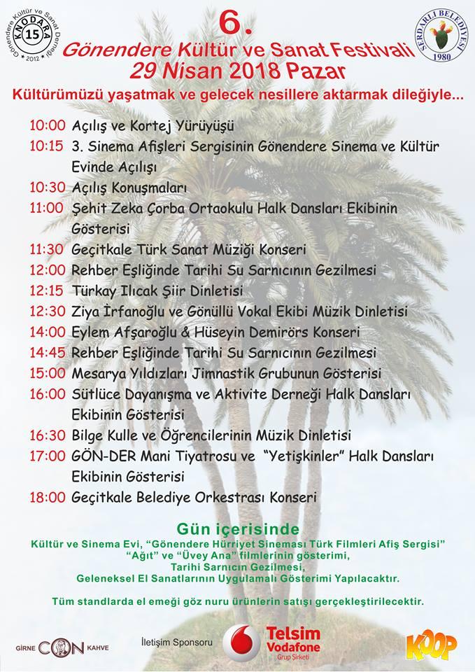 6-й фестиваль культуры и искусства Gönendere