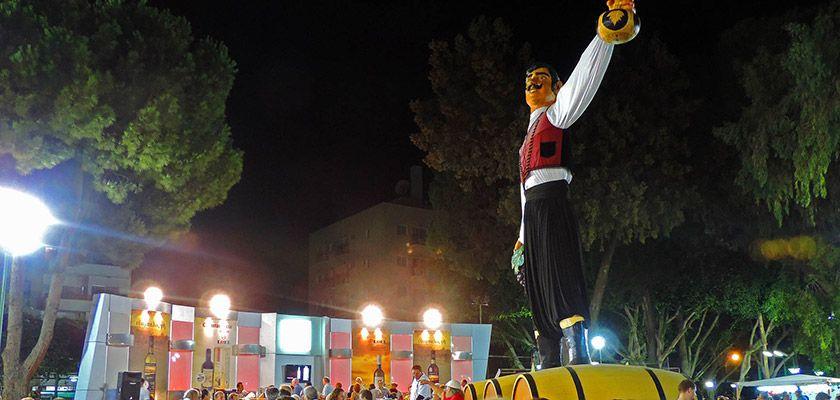 В Лимассоле стартовал 56-ой винный фестиваль