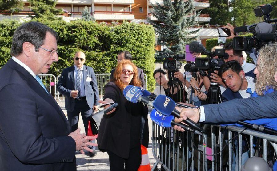 Предложения президента Никоса Анастасиадиса по урегулированию кипрской проблемы