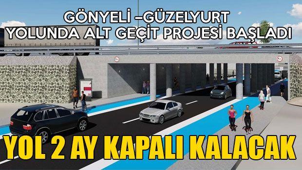 Дорога из Гёньели в Гюзельюрт будет закрыта на два месяца