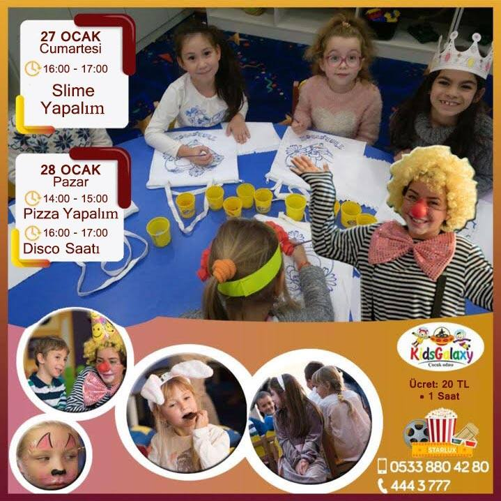 Развлечения для детей в Starlux Sinema